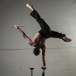 Nicolo twisted handstand